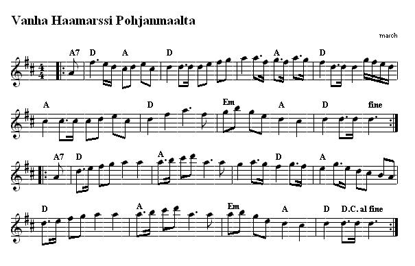 Finnish Dance Tunes